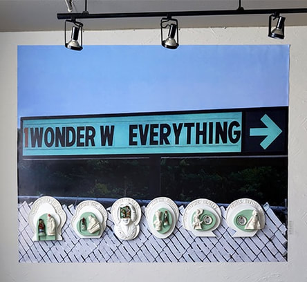 Wonder w/ Everything, Lynn Peters Art